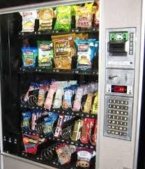 Where Can I Put A Vending Machine Impressive In The Office The Break Room Vending Machine Is Filled With Herr's