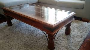 charming indian coffee table and hand carved indian coffee table with glass top in finchampstead