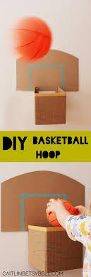 caitlin b bell diy basketball hoop