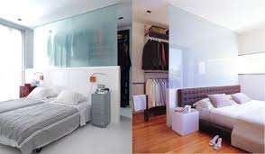 bedroom bathroom walk through closet bedroom open wardrobe behind bed also frosted glass