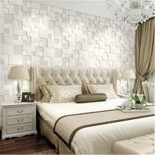Modern Wallpaper For Living Room 10m Modern Simple 3d Mosaic Living Room Non Woven Wallpaper Home