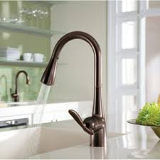 pull down oil rubbed bronze kitchen faucet