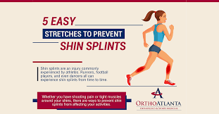 5 easy stretches to prevent shin splints