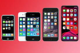 apple iphone history look how much the