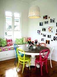 Colorful Dining Room Tables Custom Decorating