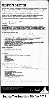 Technical Director Job Description Technical Director TAYOA Employment Portal 20