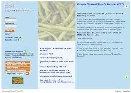 Georgia Ebt Card Balance Food Stamps Ebt