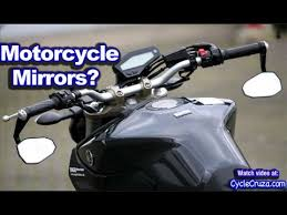 motorcycle mirrors what s best motovlog youtube