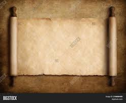 Parchment Powerpoint Background Scroll Parchment Over Image Photo Free Trial Bigstock