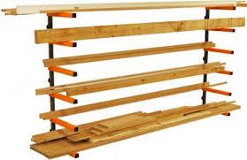 portamate 6 shelf lumber rack