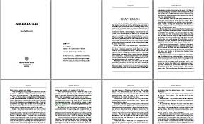 Free Book Writing Templates For Word