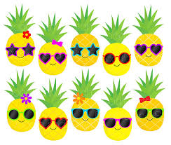 pineapple with sunglasses clipart. download pineapple with sunglasses clipart l