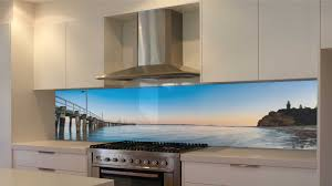 graphxglass printed kitchen glass splashbacks queenscliff old pier the rip port