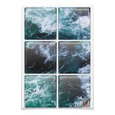 """Магниты квадратные 9.5x9.5см """"Бескрайнее <b>море</b>"""" #2693098 от ..."""