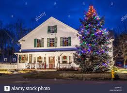 Falmouth Ma Christmas Tree Lighting Usa New England Massachusetts Cape Ann Gloucester