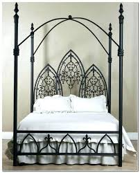 iron canopy bed queen – movedon