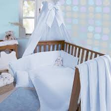 clair de lune soft waffle 3 piece cot cot bed bedding bale blue