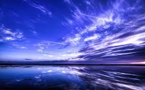 sky reflection wallpaper
