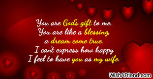 You are God s t to me Love Message For Wife