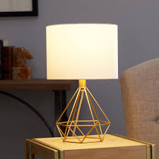 Silverwood Furniture Reimagined Celeste 16 In Gold Table Lamp With