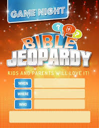 Jeopardy Game Template jeopardy flyer - Koto.npand.co