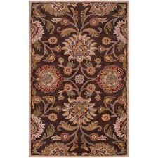 artes chocolate 12 ft x 15 ft area rug