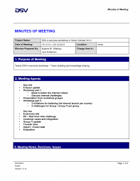 Beautiful Free Meeting Minutes Template | Best Templates Word ...