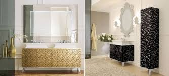 luxury bathroom furniture cabinets. luxury bathroom furniture with gold or silver covering hermitage by oasis cabinets
