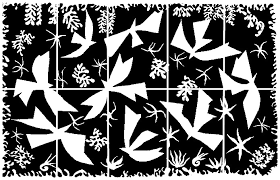 Coloring Page Art Famous Paintings Henri Matisse Polynesia The