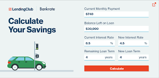 Auto Refinance Calculator How Much Could You Save
