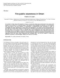 fire public awareness in pdf available