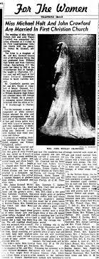 Mrs John Wesley Crawford - Newspapers.com