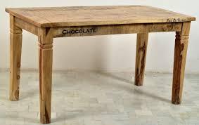 Tisch Esstisch Esszimmertisch Esszimmer Mangoholz Antikfinish