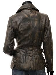 vintage leather motorcycle jacket womens
