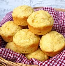Creamed Corn Cornbread Muffins Joy Love Food