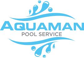 Pool service Logo Norfolk Waterfront Venues Aquaman Pool Service