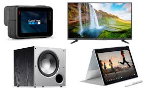 daily tech deals 7-10-2018 $89 32-Inch TV, GoPro HERO6 Sale \u0026 PS4, Xbox One, Switch Games 50