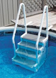 above ground swimming pool accessories steps