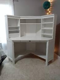 white corner desk. Beautiful Desk IKEAHemnesWhiteCornerDeskWorkstation In White Corner Desk A