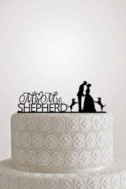 Wedding Cake Toppers Custom Personalize With Your Last Name Date