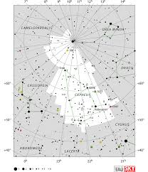 Star Chart Without Constellations Cepheus Constellation Facts Myth Star Map Major Stars