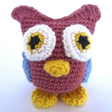Free Owl Crochet Pattern Magnificent Decorating Design