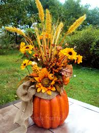 34 Most Awesome Pumpkin Decorations For Fall | Pumpkin vase, Diy ...