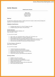Custodian Resume Samples Professional Janitor Resume Sample Resume