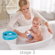 baby bath tub stand boys girls toddler kids shower sling blue portable seat gift