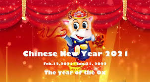 The holiday falls on the second new moon after the winter solstice on december 21. Chinese New Year 2021 Year Of The Ox