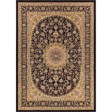 timeless aviva black 11 ft x 15 ft traditional area rug