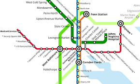 the baltimore red line does need a tunnel, despite its cost Baltimore Transit Map a part of what baltimore's transit map could look like with the red line image by peter dovak baltimore rapid transit map