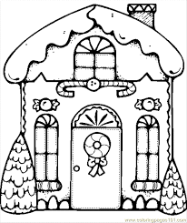 Small Picture Christmas Coloring Page 53 Coloring Page Free Houses Coloring