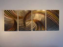 tempest bronze  abstract metal wall art contemporary modern decor